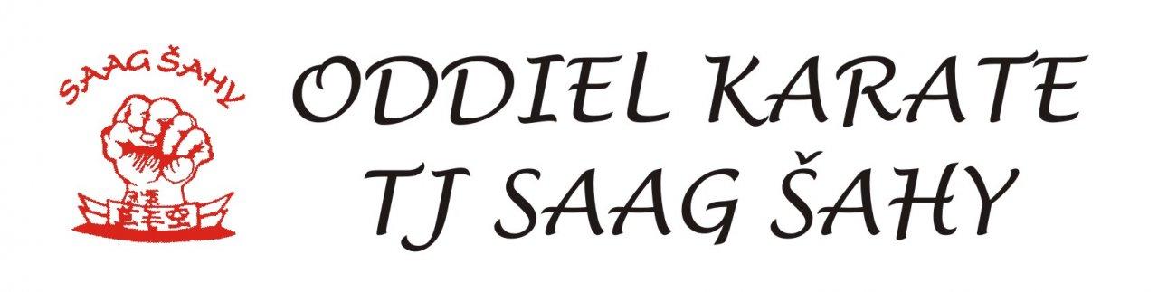Oddiel karate TJ SAAG ŠAHY
